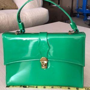 EUC Vintage 50s-60s green purse